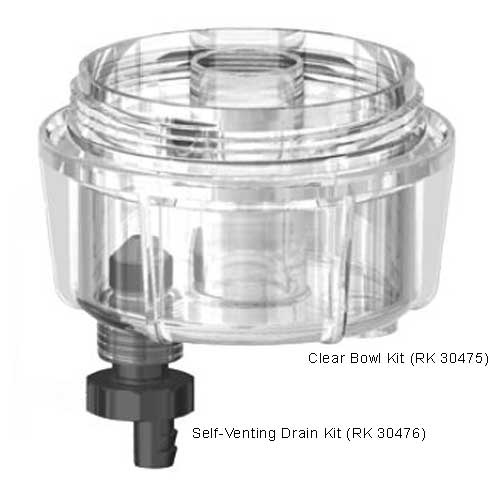 racor clear replacement fuel filter bowl kit
