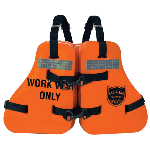 Imperial Type V Vinyl Dipped Work Life Jacket West Marine