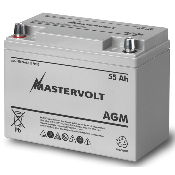 AGM 12/55 Group 24 Sealed Marine Battery