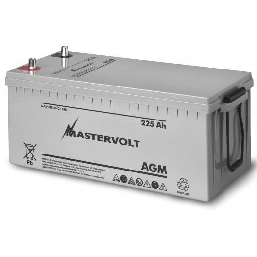 AGM 12/225 Group 8D Sealed Marine Battery