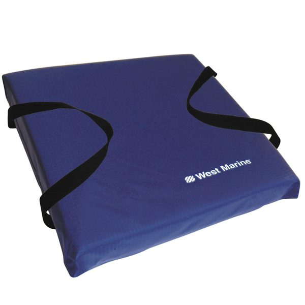 West Marine Deluxe Flotation Cushion Blue West Marine