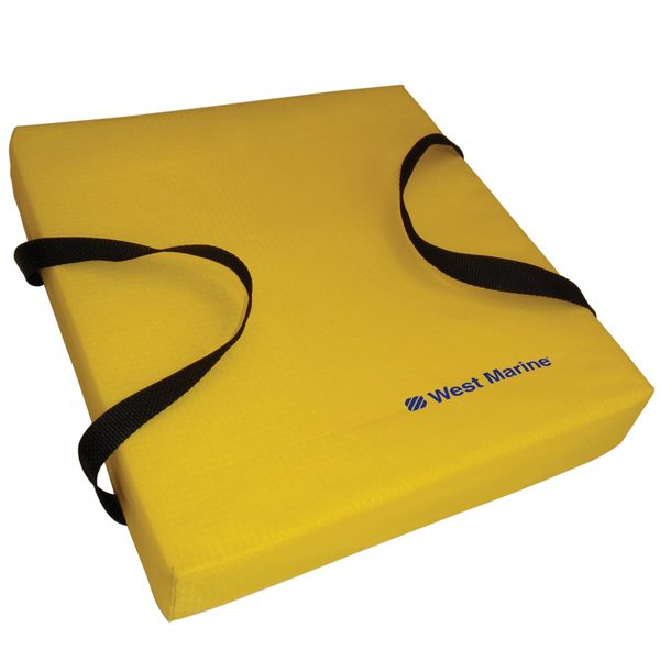 Deluxe Flotation Cushion, Yellow