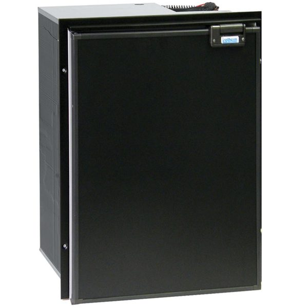 Cruise 130 Drink Classic - DC Only, Left Swing, Black Door & Panel, 3 - Sided Black Flange, No Freezer