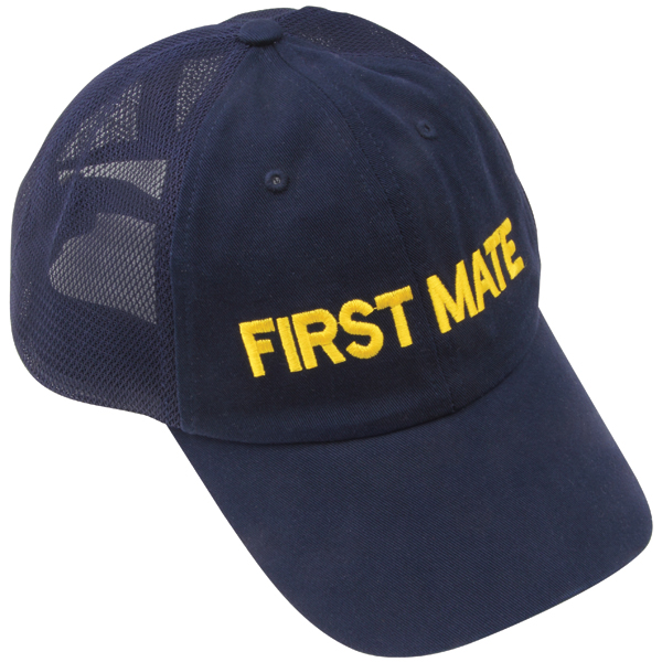 First Mate Mesh Boating Cap