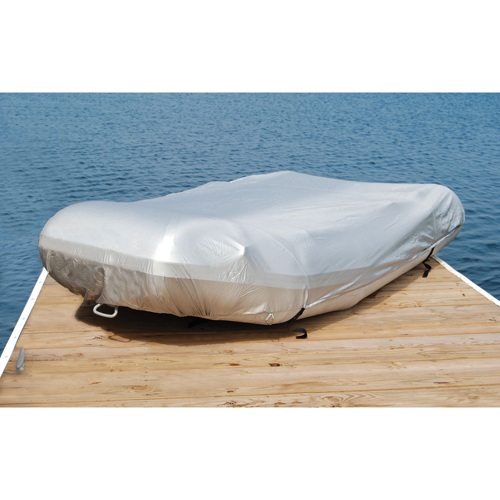 West Marine Inflatable Boat Cover, 70 Boat Beam, 147-160 Boat Length