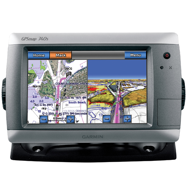 Clearance GPSMAP 740s Chartplotter Sounder With GMR 18HD Radome No Transducer
