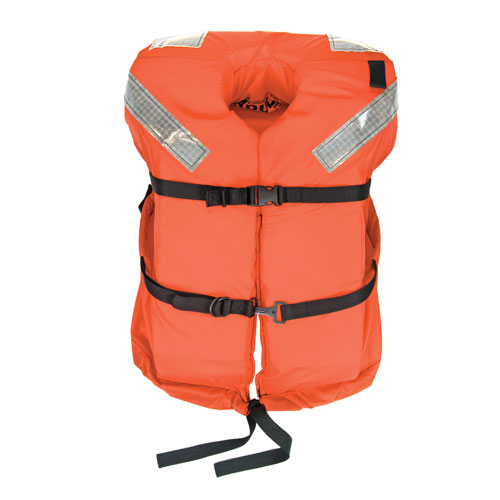 Type I Foam Life Vests Type 1 Foam Life Vest, Adult (over 90lb.)