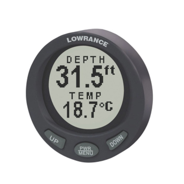 LST-3800 In-Dash Digital Depth/Temp Gauge