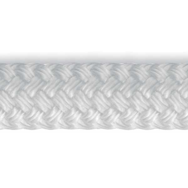 MLX Double Braid, White, Sold by the Foot