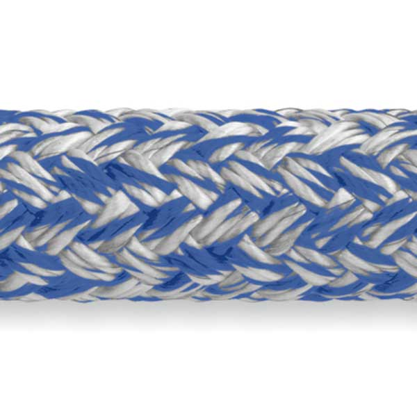 MLX Double Braid—Blue, Sold by the Foot