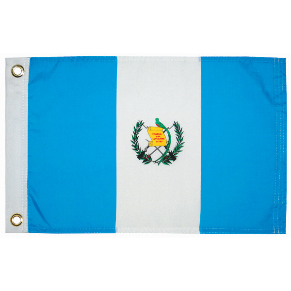 "Guatemala Courtesy Flag 12"" x 18"""