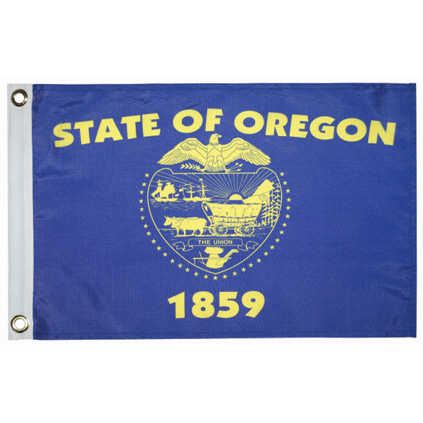 "Oregon State Flag, 12"" x 18"""