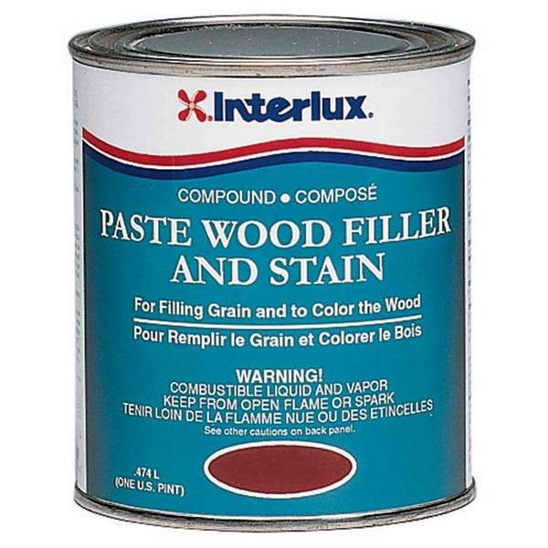 Mahogany Paste Wood Filller/Stain, Pint