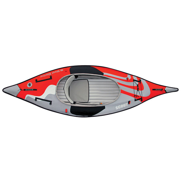 WEST MARINE Scout Advanced Frame Inflatable Sit-Inside Kayak | West ...