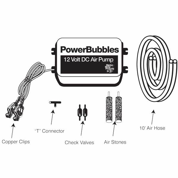 Marine Metals Powerbubbles 12v Dc Air Pump West Marine