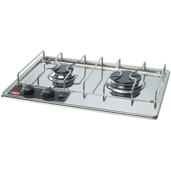 eno stoves two burner built in propane cooktop west marine. Black Bedroom Furniture Sets. Home Design Ideas