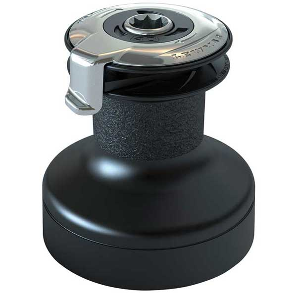 #30 Two-Speed Aluminum Self-Tailing Winch Black
