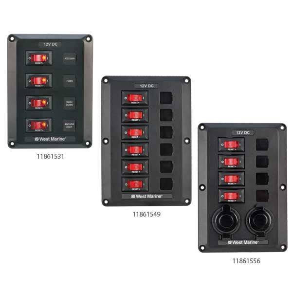 11861556 west marine dc electrical panels west marine Electrical Power Distribution Panel at nearapp.co