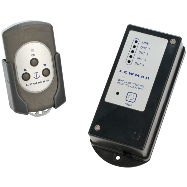 Three-Button Wireless Remote (Windlass Only)