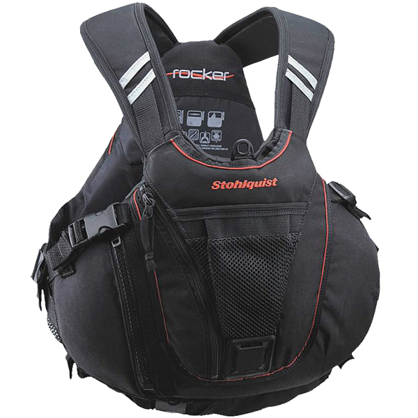 "Stohlquist Rocker Life Jacket, L/XL, 40""-46"" Chest Size"