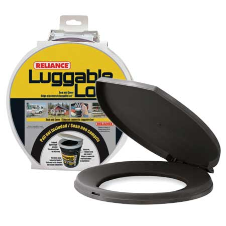 Reliance 341087 Luggable Loo Seat and Cover
