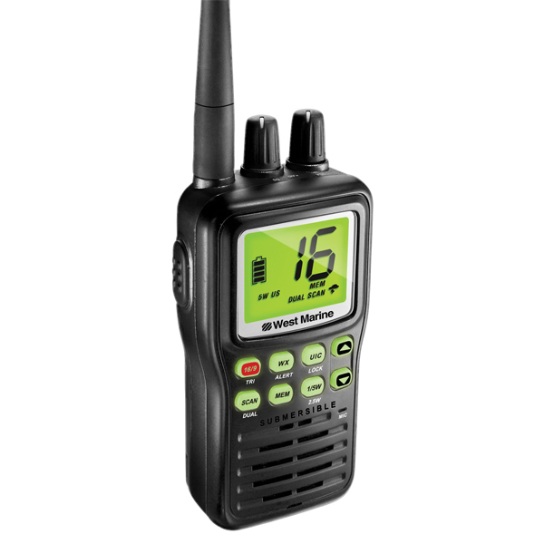 west marine vhf85 handheld vhf radio west marine. Black Bedroom Furniture Sets. Home Design Ideas
