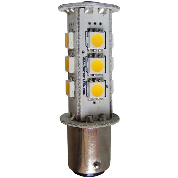 Dr Led Red Surface Mount Double Contact Bayonet Led