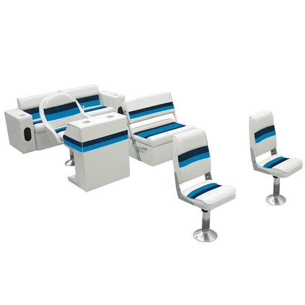 Wise Seating Traditional Pontoon Furniture Kit Ii West Marine