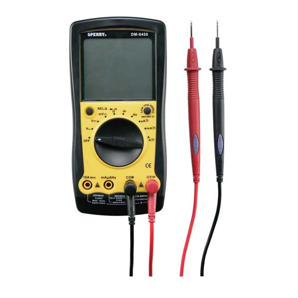 9-Function Digital Multimeter