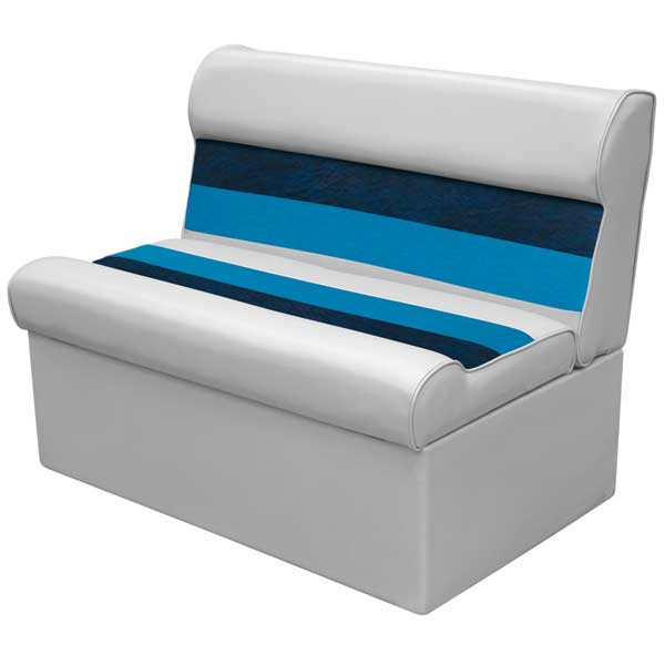 Wise Seating 8wd100 Deluxe Pontoon Bench And Base 36