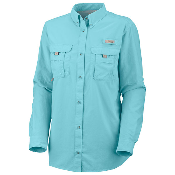 Columbia women 39 s pfg bahama shirt west marine for West marine fishing shirts