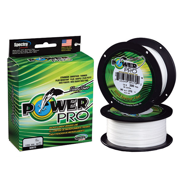 Power Pro Spectra Braided Fishing Line, 15Lb, 300Yds, White