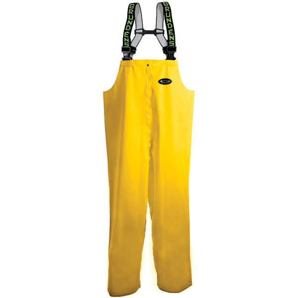 Grundens men 39 s petrus 116 bib pants west marine for Mens fishing rain gear