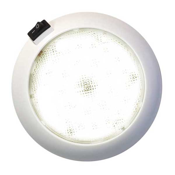 Clearance Surface-Mount 5 1/2  LED Dome Light with Switch  sc 1 st  West Marine & WEST MARINE Surface-Mount 5 1/2