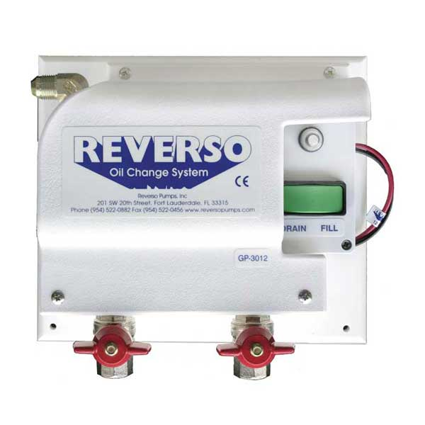 Reverso gp 3010 oil change system with gear pump 12v two for Outboard motor oil change pump