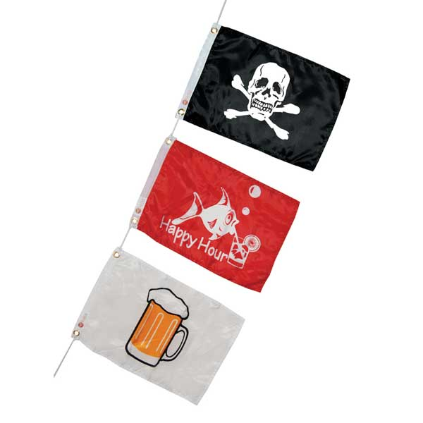 Novelty Flag Party Three-Pack