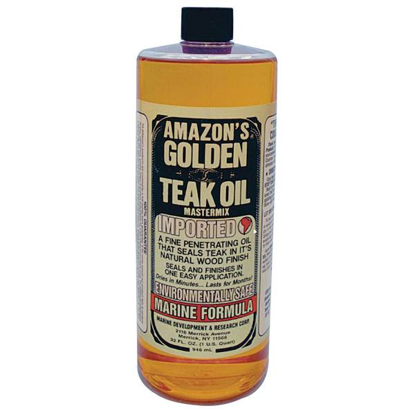 Golden Teak Oil, Quart