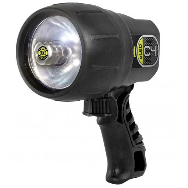 C4 eLED Dive Light, Black