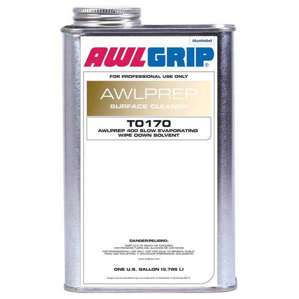 Awlprep 400 Slow Evaporating Wipe Down Solvent