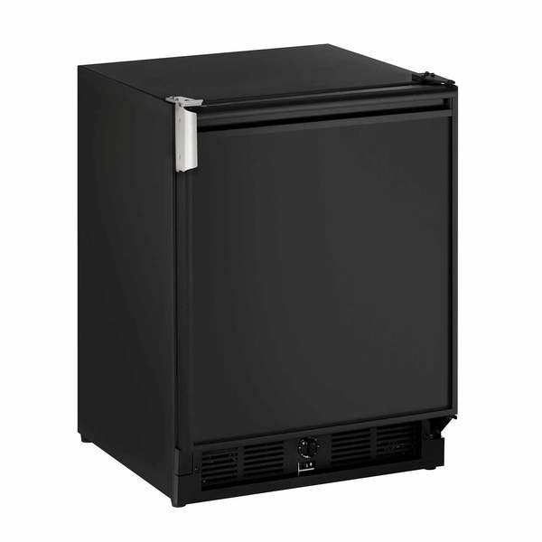 "21"" Black Marine Refrigerator/Ice Maker, 115V"