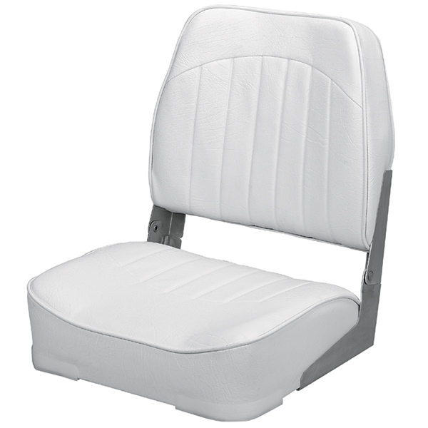 Wise seating promotional low back folding fishing boat for Fishing boat seat
