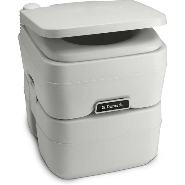 SaniPottie 960 Series Portable 5 Gal. Toilet Platinum
