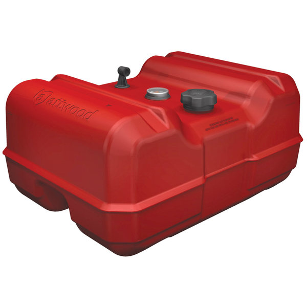 12 Gallon Low-Profile, Low-Permeation Above-Deck Fuel Tank