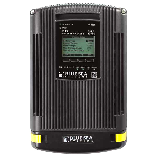 Marine Battery Charging Systems : Blue sea systems p a battery charger west marine