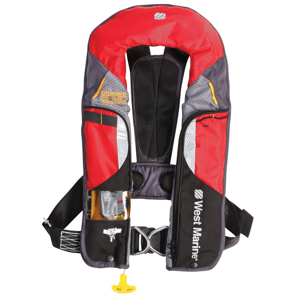 WEST MARINE Offshore Automatic Inflatable Life Jacket with Harness | West  MarineWest Marine