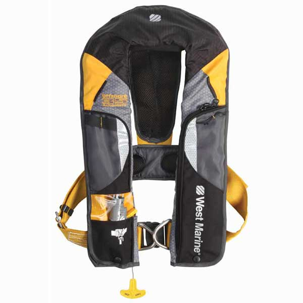 West Marine Offshore Manual Inflatable Life Jacket With