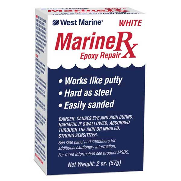 Marine Rx Epoxy Repair Kit, 2 oz.
