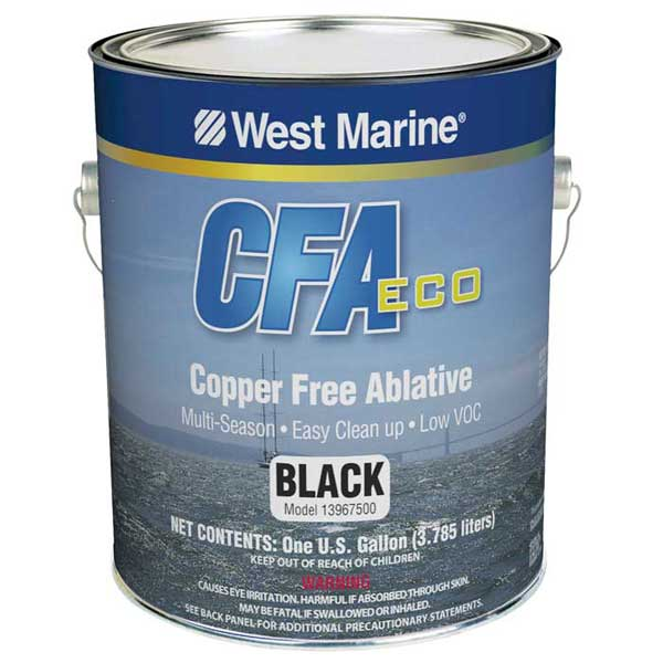 West Marine CFA Eco Copper-Free Antifouling Paint, Red, Gallon