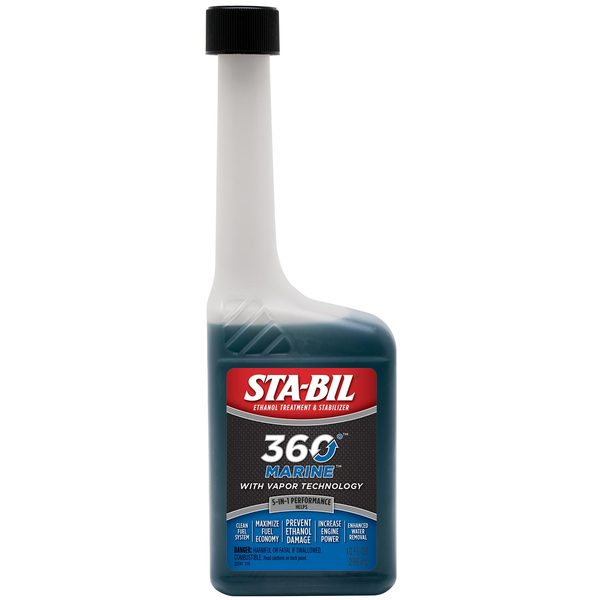 360˚ Marine Formula Ethanol Treatment & Stabilizer, 10 oz.