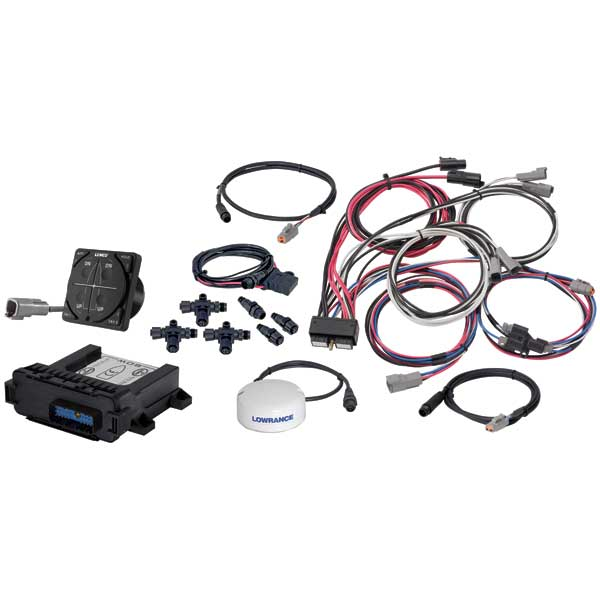 Auto Glide Dual Actuator Trim Tab Control System